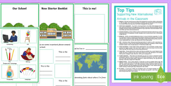 New EAL Starter Activity Pack - eal, starter, activity, pack