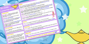 Aladdin KS1 Lesson Plan Ideas - aladdin, ks1, lesson plan, ideas