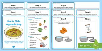 Vegetable Soup Recipes - recipe, cards, vegetable soup