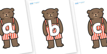 Phoneme Set on Little Bear - Phoneme set, phonemes, phoneme, Letters and Sounds, DfES, display, Phase 1, Phase 2, Phase 3, Phase 5, Foundation, Literacy