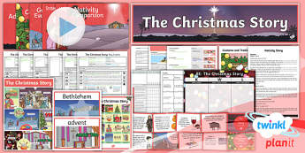 RE: The Christmas Story Year 6 Unit Pack