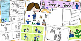Simple Simon Resource Pack - australia, simon, resources, pack