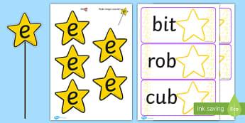 Magic E Wand Activity - magic e, wand, activity, literacy, literacy activities, class activities, class discussion, group discussion, e, discussion prompt