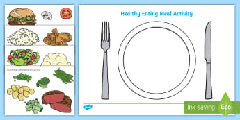 Healthy Eating Meal Activity - healthy, healty eating, sort, activity, fruit, game, vegetable, healthy food, how to eat healthy, food, sorting