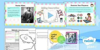 Art: Fabricate: Adding Decoration KS1 Lesson Pack 2