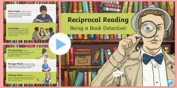 CfE Reciprocal Reading PowerPoint-Scottish