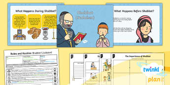 RE: Rules and Routines: Shabbat (Judaism) Year 2 Lesson Pack 3