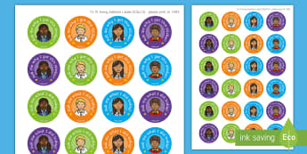 'Talk About' Reward Stickers - Early Years, ask me, Transition, Home School Links, Starting School, Home Visit, Nursery, FS1, Recep