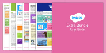 Extra Bundle User Guide - twinkl, user guide, extra, extra bundle, free user guide, guide, user