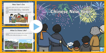 Chinese New Year EYFS Information PowerPoint - chinese new year, EYFS planning, early years activities, festivals, celebrations