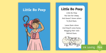 Little Bo Peep Nursery Rhyme IKEA Tolsby Frame - baby signing, baby sign language, communicate with baby, pre verbal baby, tiny talk, sing and sign,
