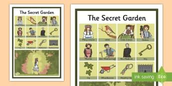 The Secret Garden Vocabulary Poster - poster, vocabulary, secret