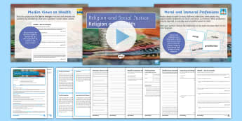 Religion and Wealth Lesson Pack - Wealth, Acquisition, Poverty, Islam, Christianity