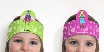 Thumbelina Role Play Headband - stories, story books, roleplay