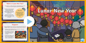 Lunar New Year around the World PowerPoint - chinese new year, info, chinese new year, new yeAT, NEW YAR, new yeart, chinesenew year, chinese new