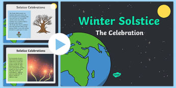 Winter Solstice The Celebration First Level PowerPoint - Christmas, Yule, Druid, Celt, Scandinavian, Viking, ,Scottish
