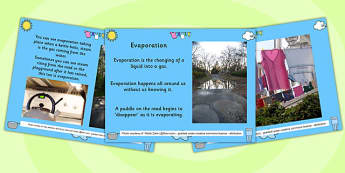 Evaporation PowerPoint - evaporation, powerpoint, science, info