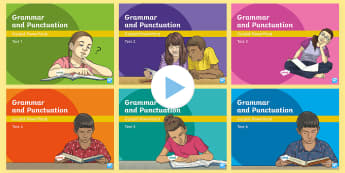 Y5 Grammar and Punctuation Tests Guided PowerPoint Pack - Y5, year 5, SPaG, GPS, grammar, punctuation, parenthesis, relative clauses, adverbs of possibility