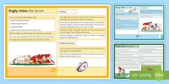 Rugby: Laws Cards - Rugby, KS3, rules, display, cards