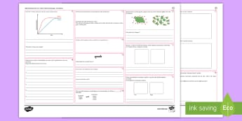 AQA Chemistry Unit 5.6 Rate of Chemical Change Foundation  Revision Activity Mat Pack  - Chemistry, rates, AQA, Chemical, graphs, concentration, temperature, Catalyst, equilibrium, Reaction