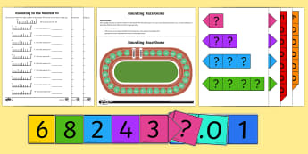 Rounding to the Nearest 10 - Maths Resources, maths, numeracy, ks1, ks2, rounding, to 10, ten, numbers, place value