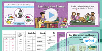 PlanIt Y2 Term 2B W1: /u/ spelt 'o' Spelling Pack - Spellings, Year 2, spell, write, read, spelling list, u,