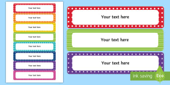graphic about Free Printable Classroom Labels known as Clroom Labels - Clroom Organisation Tool - Twinkl