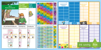 Year 3 Reading At Home Resource Pack - comprehension, understanding, questioning, Y3, lKS2, home readers, parents