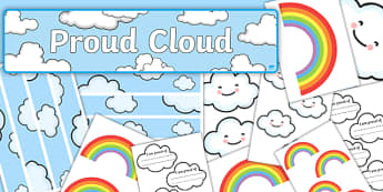 Proud Cloud Display Pack - proud cloud, display pack, display, pack