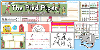 The Pied Piper Resource Pack - resources, traditional, tales