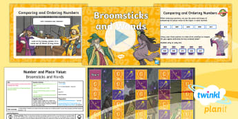 PlanIt Maths Y3 Number and Place Value Lesson Pack Solve Problems (4) - Number and Place Value, multiples, times tables, steps of, counting on, problem solving, maths maste