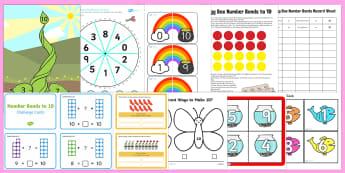 Number Bonds to 10 Games - Number Bonds to Ten Games - Number Bonds to 10 Games - Number Bonds to Ten Games, number bonds, maths games, Addition facts