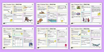 Year 5 Autumn Term 1 SPaG Mats SPaG Activity Mats
