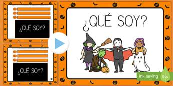 Presentación: ¿Qué soy? - Halloween