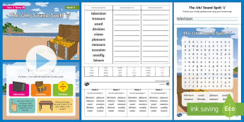 Year 2 Term 2B Week 5 Spelling Pack - Spelling Lists, Word Lists, Spring Term, List Pack, SPaG, spelling homework, spelling test