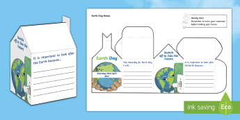 Earth Day 2017 House Activity - Earth Hour, house, responsibility, climate change, environment,earth day, climate, house, activity