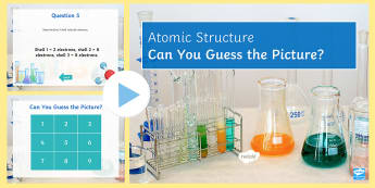 Atomic Structure and the Periodic Table Quick Quiz - electrons, protons, neutrons, atomic number, mass number, elements, sodium, carbon, potassium