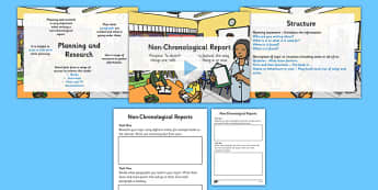 Writing a Non-Chronological Report and Worksheet / Activity Sheet - nonchronological report, non-chronological report, how to write a non-chronological report, text types