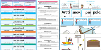 EYFS Bumper Planning Pack - Lost and Found, Oliver Jeffers, polar regions, arctic, antarctic, eyfs, early years planning, adult
