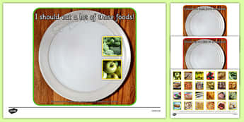 Photo Healthy Eating Sorting Activity - sorting, activity, photo, healthy eating