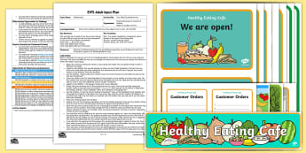 EYFS Fruit Salad Counting Activity Adult Input Plan and Resource Pack - Mathematics, Number, Total, Amount, Counting, Healthy Eating, Food, Early Years Planning, Adult Led,