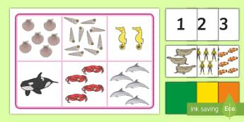 Àireamhan gu 10 Bingo  - cfe, first level, a chiad ire, matamataigs, maths, aireamhan gu 10, numbers to 10, bingo,Scottish