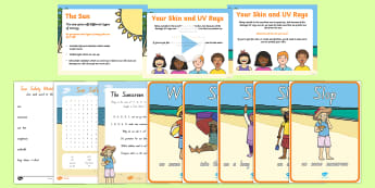 Sun Safety Resource Pack - new zealand, slip, slop, slap and wrap