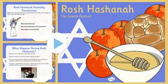 Rosh Hashanah Assembly Presentation - rosh hashanah, assembly