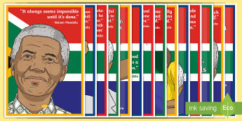 Inspirational Quotes from Nelson Mandela Display Posters - Nelson Mandela, Quotes, insperation, posters, Mandela Day, 18th July, mandela's birthday,display