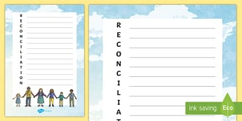 National Sorry Day Reconciliation Acrostic Poem - Australia English National Sorry Day, 26 May, Foundation, Year 1, Year 2, sorry, acrostic, poem, rec