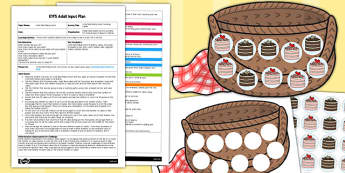 Little Red Riding Hood Counting Cakes EYFS Adult Input Plan and Resource Pack
