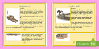 The gold rush year 5 6 history resources surface gold poster colony gold rush australia sluicing non fiction fandeluxe Images