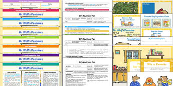 EYFS Bumper Planning and Resource Pack to Support Teaching on Mr Wolf's Pancakes - Pancake Day, Shrove Tuesday, EYFS, early years planning