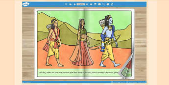 The Story of Rama and Sita eBook - Story, Rama, Sita, eBook, Book